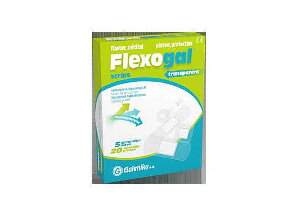 FLEXOGAL® strips transparent
