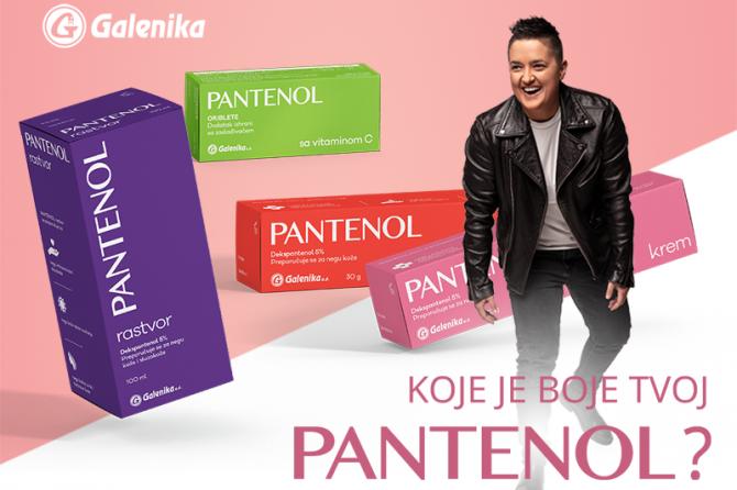 Koje je boje tvoj Pantenol?