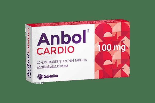 Anbol® CARDIO, 100 mg, gastrorezistentne tablete